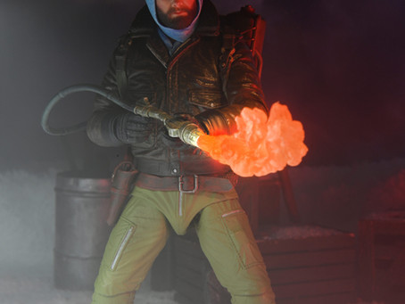 NECA:  A new MacReady figure... or is it an imitation - a Thing?!
