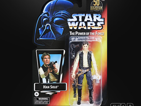 """Star Wars Black:  Lucasfilm 50th Anniversary Retro """"POWER OF THE FORCE"""" Figures coming!"""