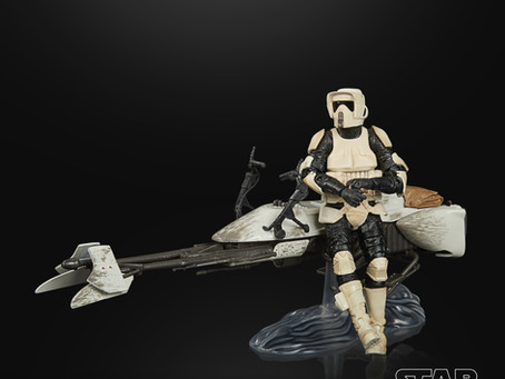 "Star Wars Black: ""Mandalorian"" Speeder Bike and Figures up for exclusive pre-order!"