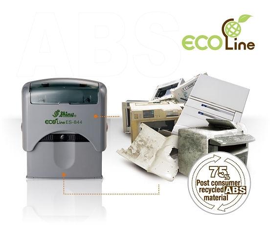 Sellos ecológicos elaborados a partir de carcazas de dispositivos electrónicos