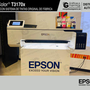 Exhibición plotter Epson SC T3170x