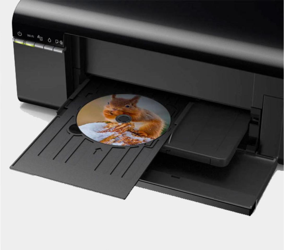 Impresión sobre CD