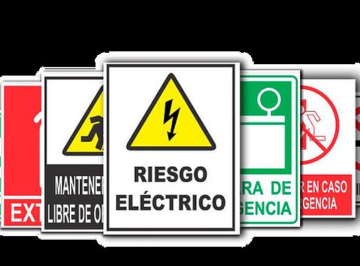 Señalización para instituciones, empresas y vehículos en Bogotá