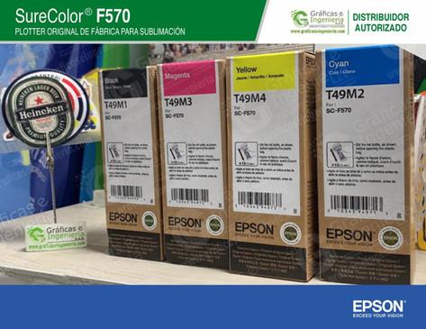 Tintas para sublimiación Original Epson