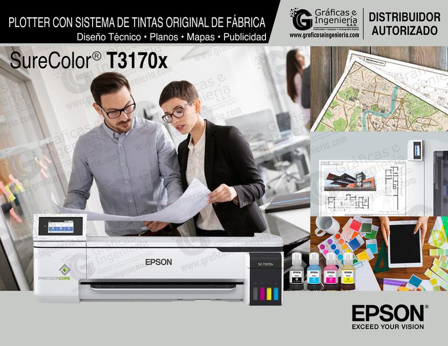 Plotter Epson SC T3170x