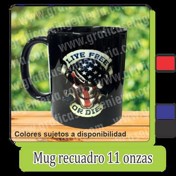 Mugs recuadro negro