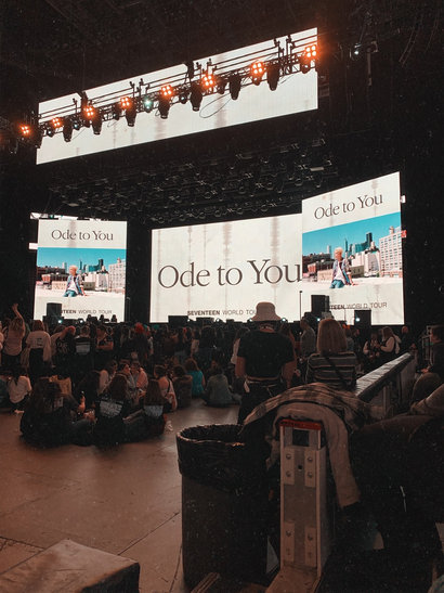 Seventeen Ode to You Tour