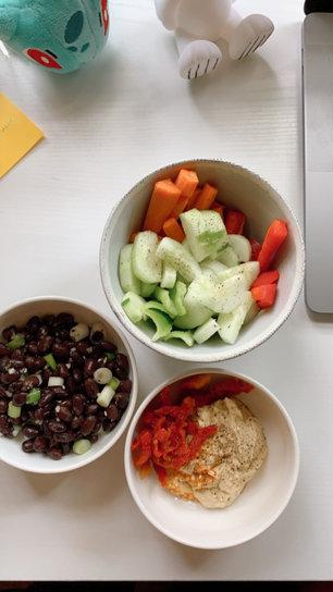 veggies for brekkie