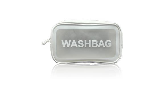 Washbag white Vorderansicht