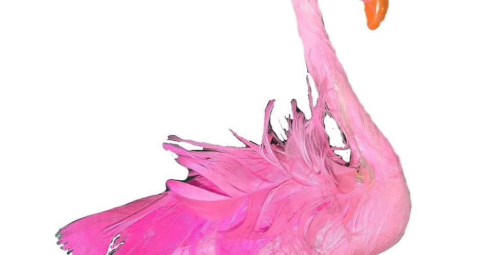 Flamingo Hair Clip