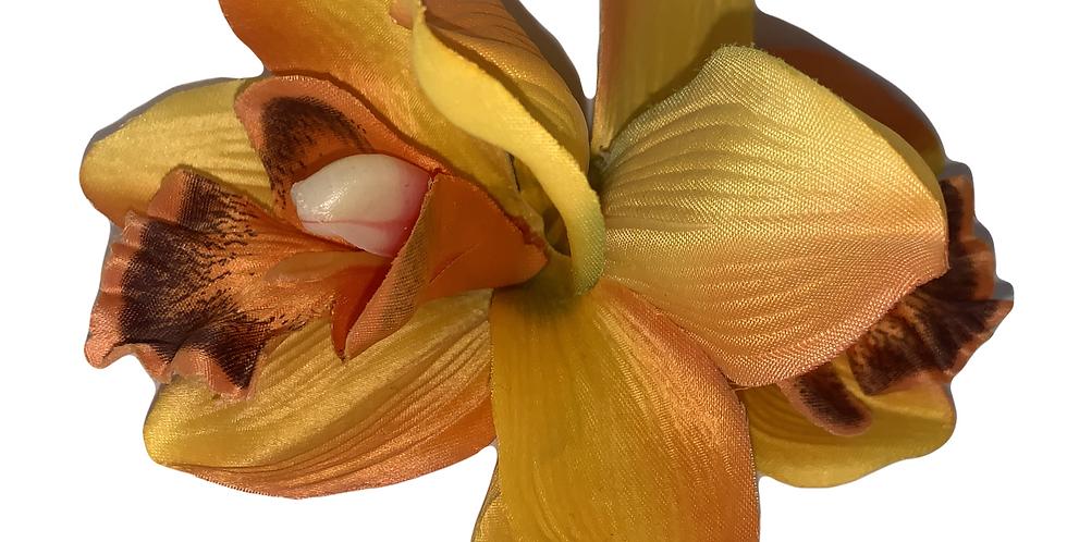 JENNI Orange Double Orchid