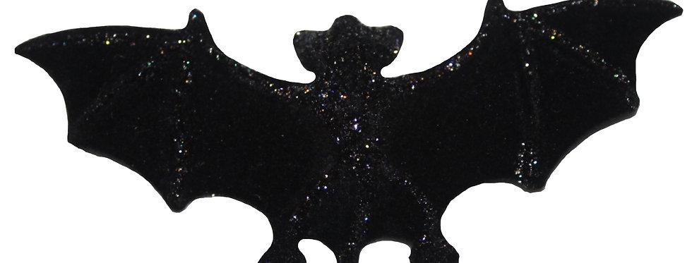 Halloween Glitter Bat Hair Clip