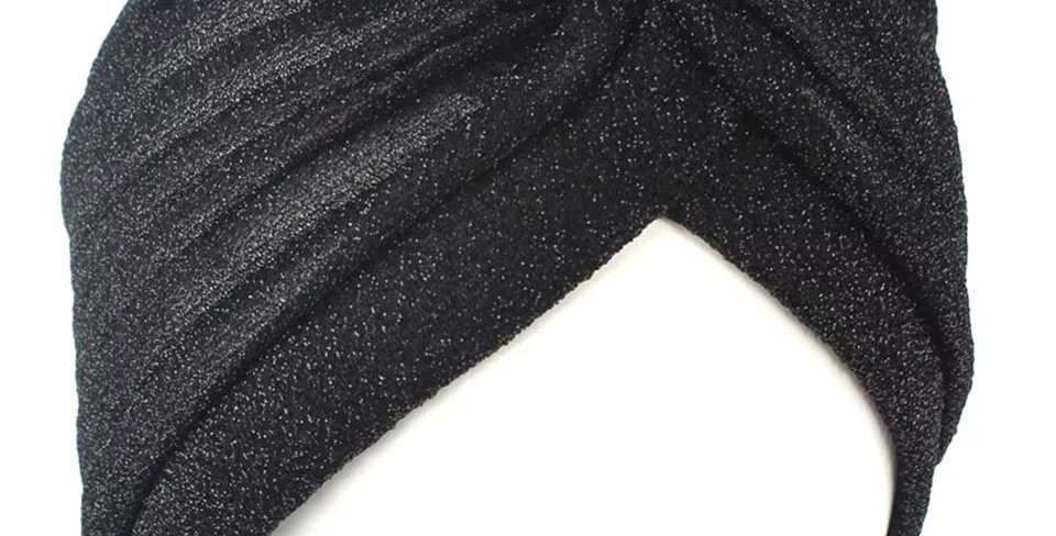 Turban BLACK