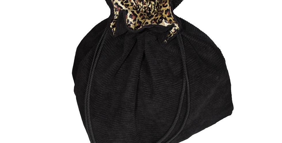 Drawstring Bag - Black