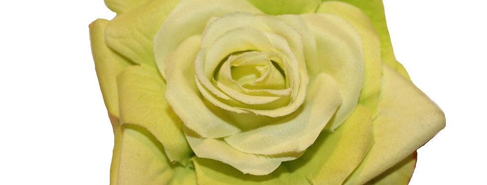 Green XL Rose Hair Flower
