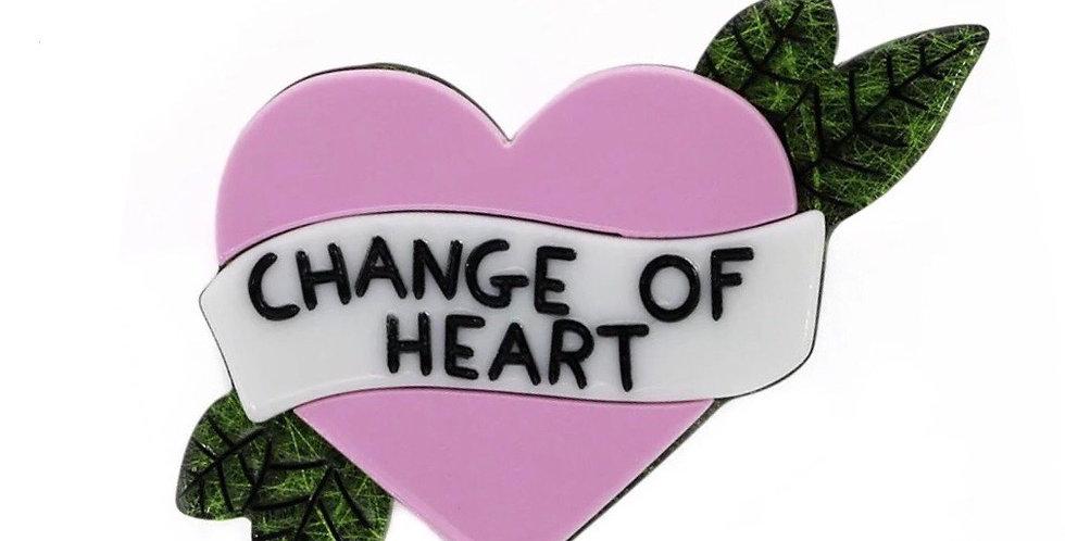 Tattoo Heart Brooch