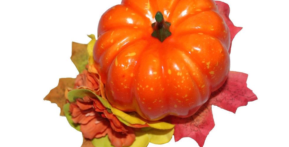Pumpkin Autumnal Hair Piece