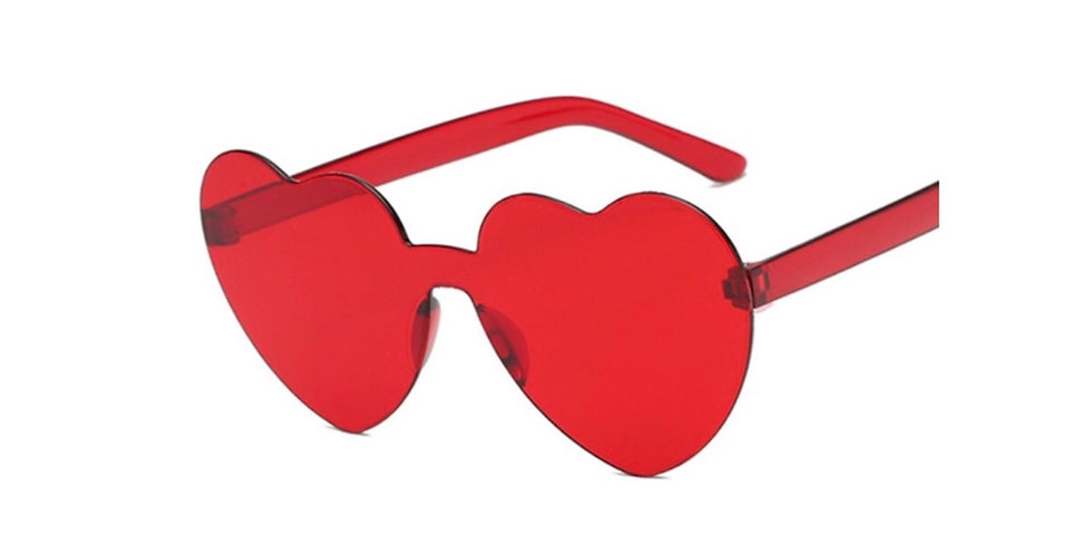 Rose Tinted Glasses - Red