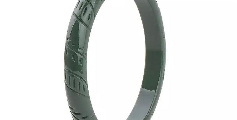 Green Acrylic Bangle