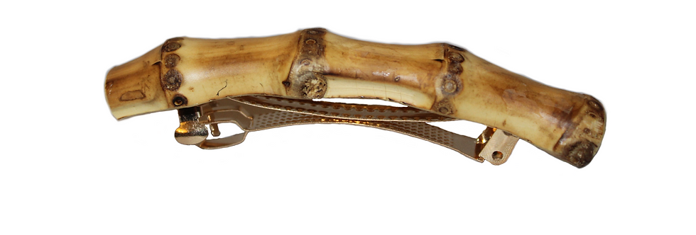 Bamboo Hair Clip (Curve)