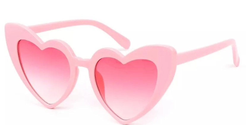 KITTY Heartshaped Sunglasses - Pink