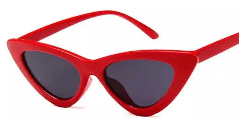 Cats Eye Sunglasses - Red