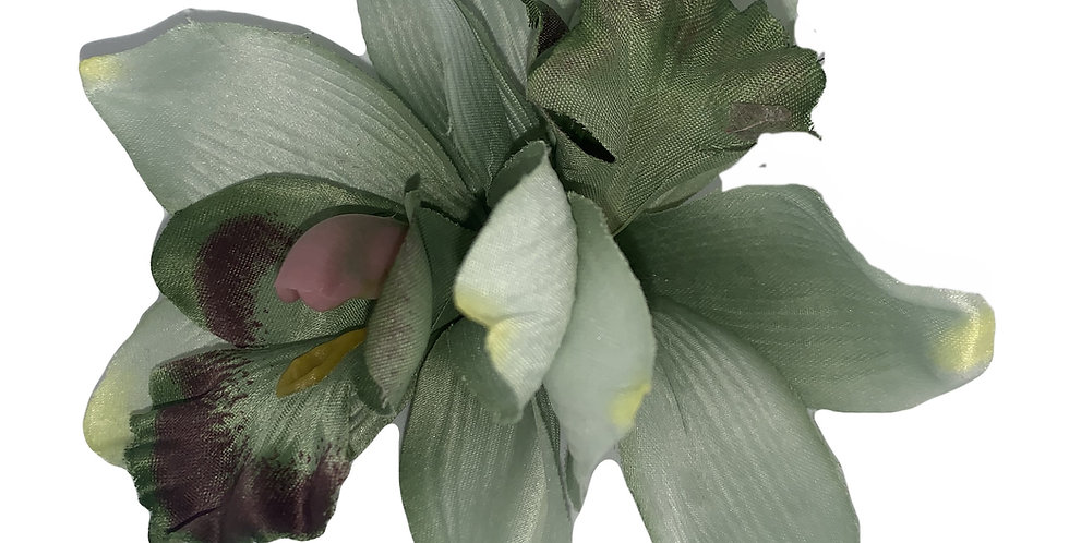 JENNI Green Double Orchid