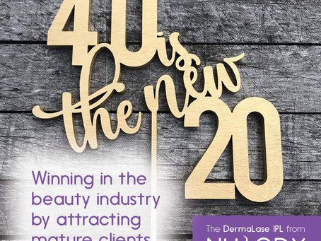 40 is the new 20: Winning in the Beauty Industry by attracting mature clients