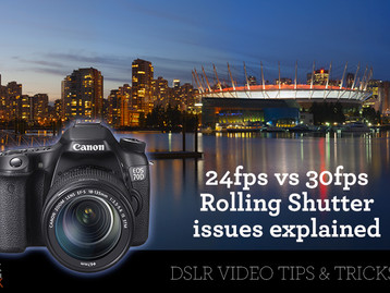 Real estate DSLR video  - 24fps vs 30fps