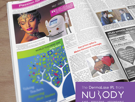 Nu Body customer's passion for beauty turns to success