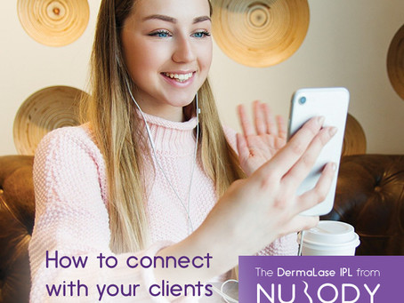 How to connect with your medi-spa or salon clients during COVID-19 crisis and not lose business