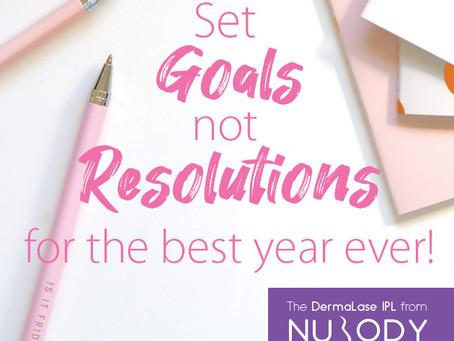 Goals vs Resolutions in 2020