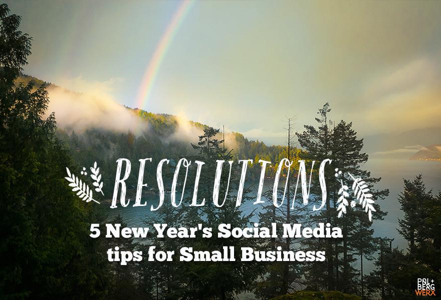 PalbergWERX 2016 New Year's social media tips image