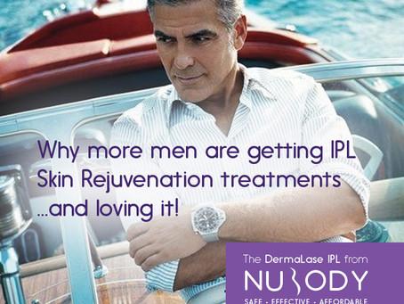 More men are choosing non-invasive IPL skin rejuvenation treatments - and loving it!