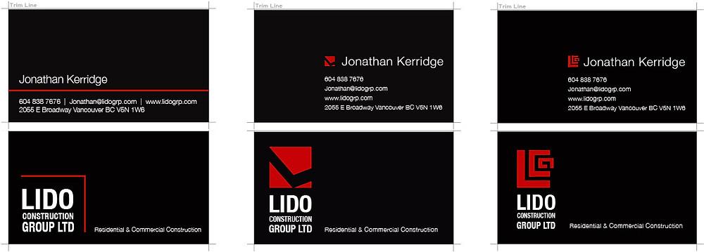 PalbergWERX Lido buisness card ideas