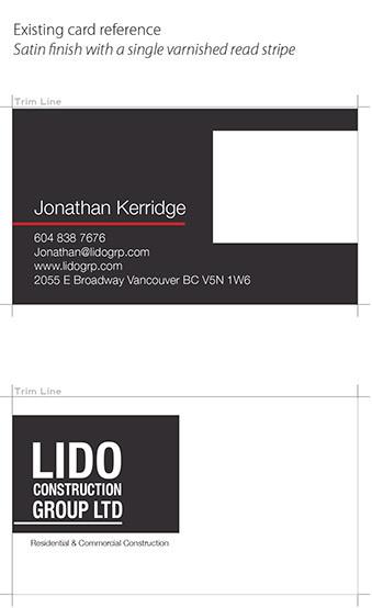 PalbergWERX business card mockup of original design
