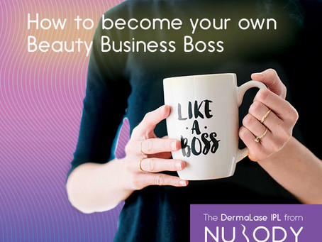 How to be your own beauty business boss