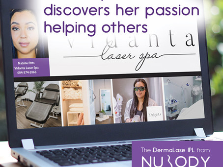 Natalie pivots careers and rekindles her passion to help others in the beauty industry