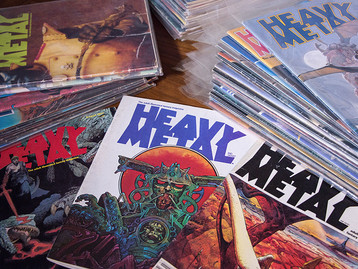 Dreaming of Heavy Metal magazine - Part 1