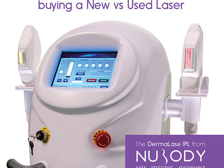 The Pros and Cons between buying a New vs Used IPL Laser