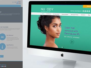 Re-branding a national beauty laser manufacturer