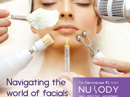 Navigating the often confusing world of facial treatment options. Part 1