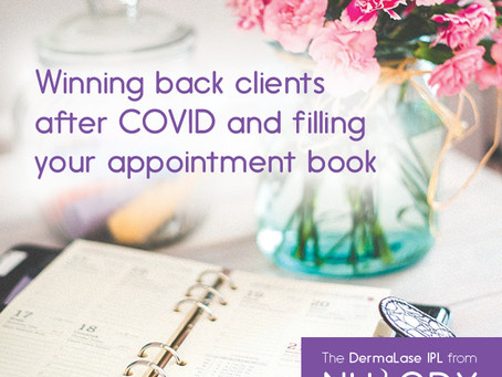 Winning back clients after COVID and filling your beauty appointment book