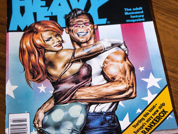 Dreaming of Heavy Metal magazine - Part 2