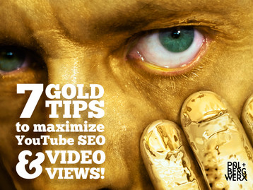 7 GOLD TIPS to maximize YouTube's SEO ranking and increase views using the under utilized but po