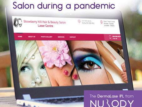 Growing a home beauty salon into a successful retail salon & laser centre - through COVID and beyond