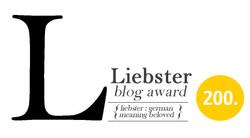 Liebster Blog Award Nominee