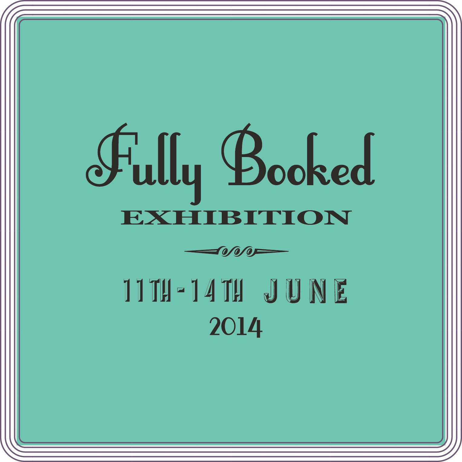Fully Booked Exhibition Preparation