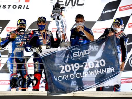 Double Champions du Monde et vainqueur des 12h d'Estoril !