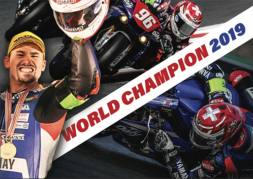 "Flyers ""World Champions 2019"" dedicacés"
